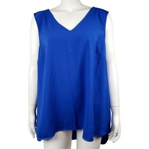 NWOT Plus Size 24 Lane Bryant Blue Royal Tank Top